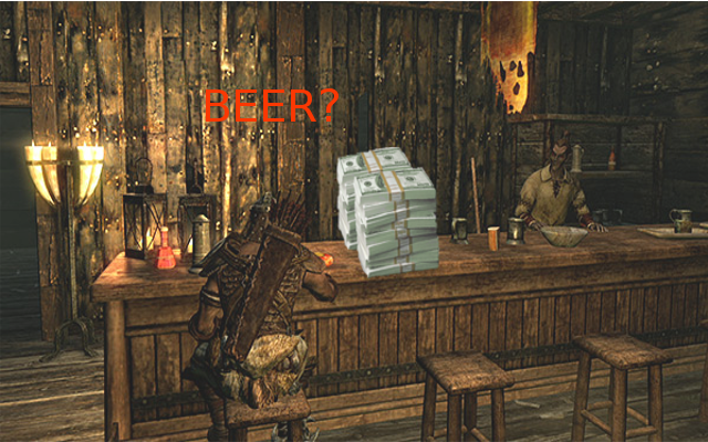 The Price of Beer – A Skyrim Comparison